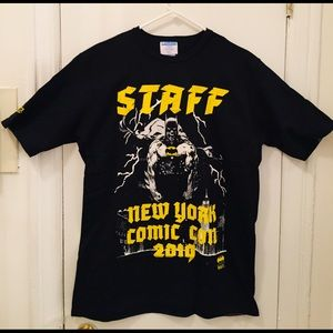 New York City Comic Con 2019 Staff Shirt Brand New